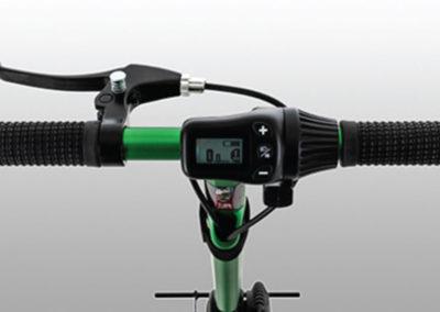 iRide scooter - hand brake detail