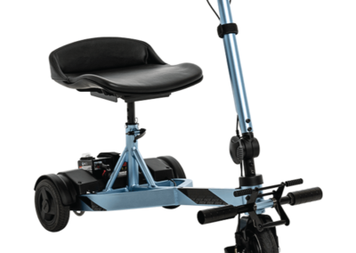 iRide scooter - shown in Arctic Ice