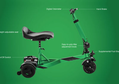 iRide scooter - Specifications
