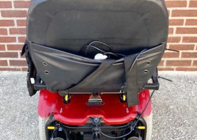 Shoprider 6Runner Power Wheelchair - back