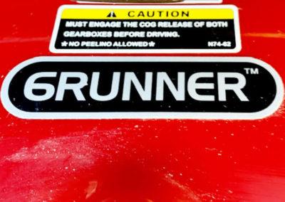 Shoprider 6Runner Power Wheelchair - bumper view