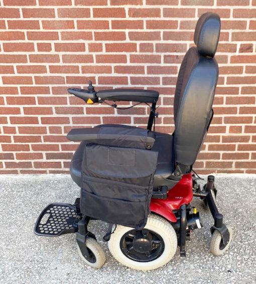 Shoprider 6Runner Power Wheelchair - left view