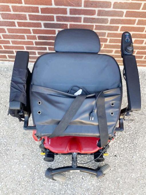 Shoprider 6Runner Power Wheelchair - seat folded