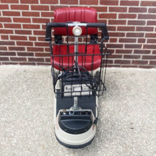 Bravo 434 mobility scooter - front view
