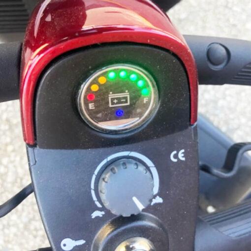 GoGo Sport mobility scooter - tiller control
