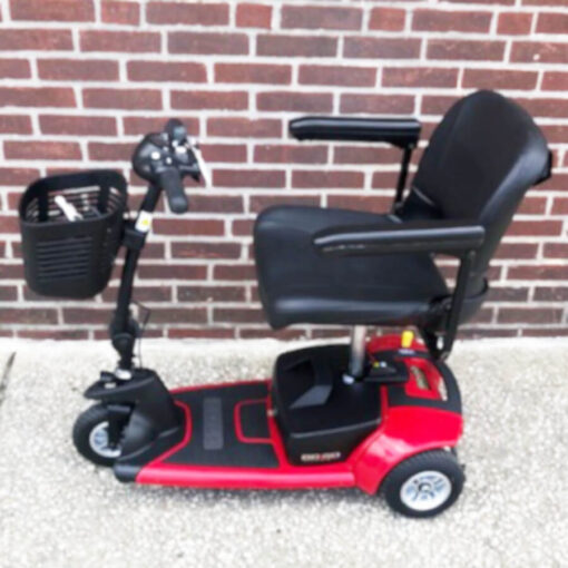 Ultra X mobility scooter - left side view