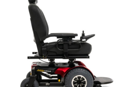 Jazzy 1450 - red - right side view
