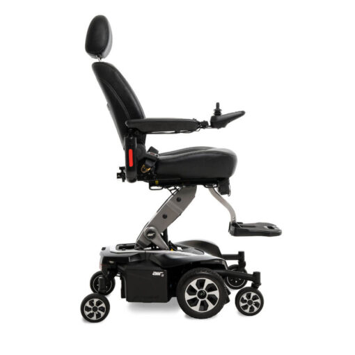 Jazzy Air 2.0 powerchair in black, right profile
