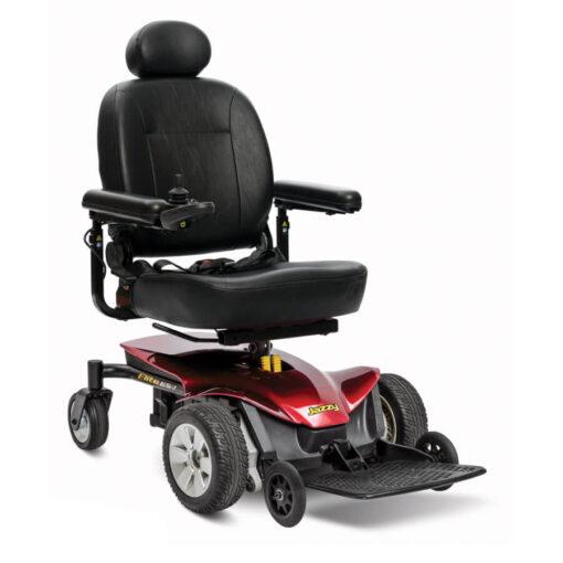 Jazzy Elite ES-1 powerchair in red