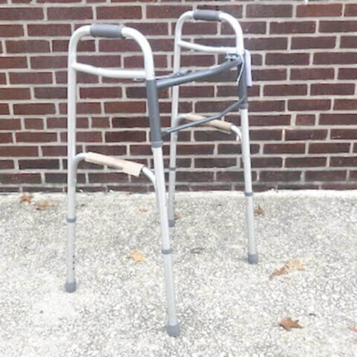 Guardian Easy Care foldable walker - angled view