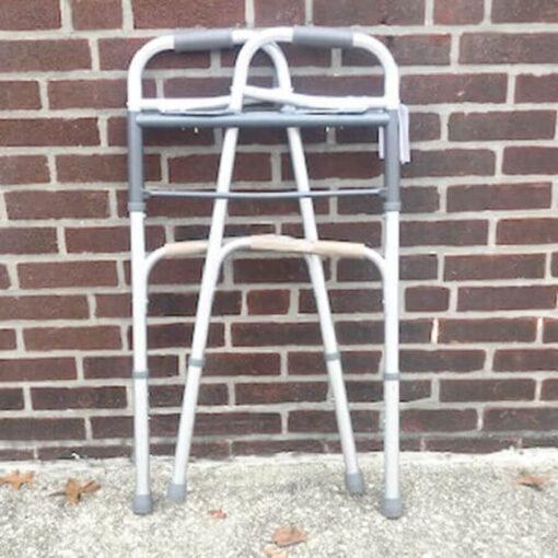 Guardian Easy Care foldable walker - folded position