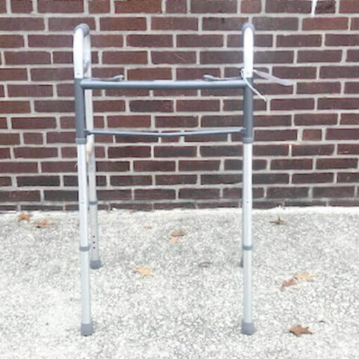 Guardian Easy Care foldable walker - front view