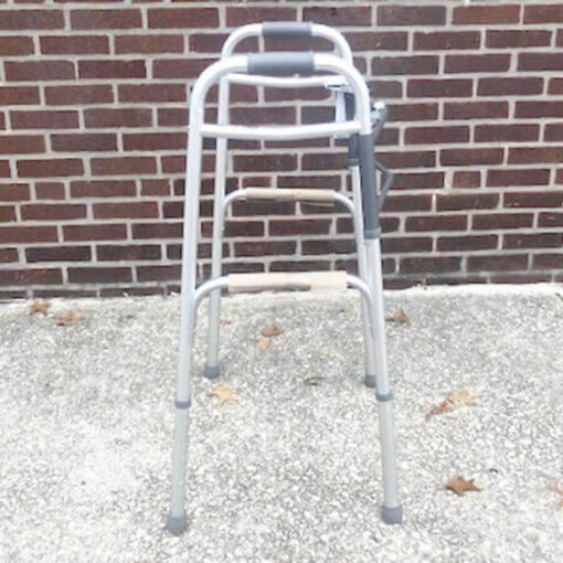 Guardian Easy Care foldable walker - right profile