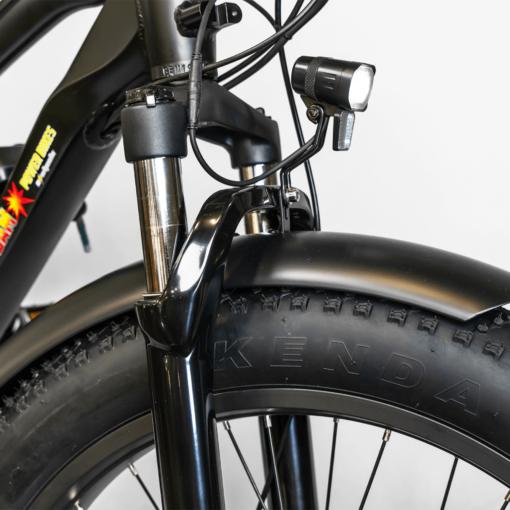 BAM EW Supreme E-Bike Kendall tire detail