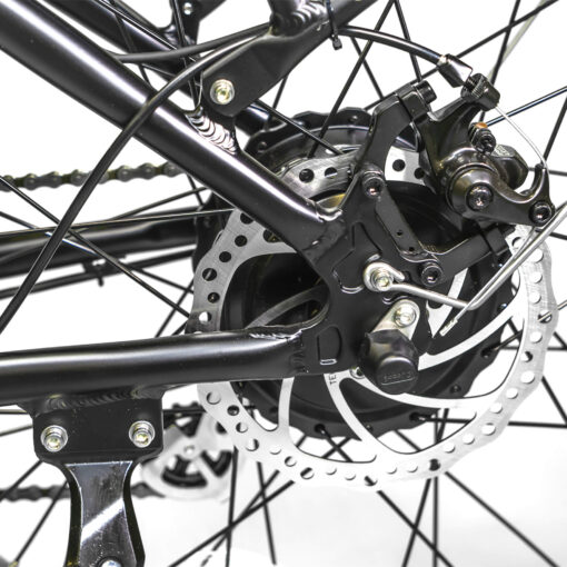 BAM EW Supreme E-Bike rear axle detail
