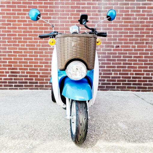 EWheels EW-11 Scooter - three wheel - Blue - front view